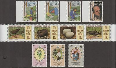 Tristan da Cunha 1981-84 Queen Elizabeth II Selection inc Min Sheets UM Mint