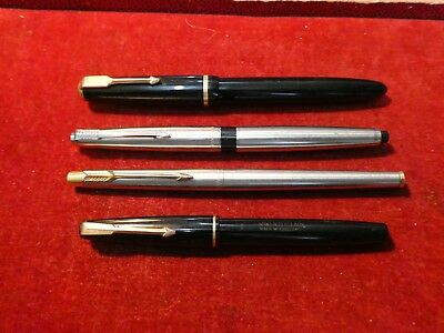 Parker Fountain Pens [4] . 45. 17 Lady. Duofold Etc.