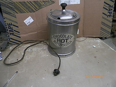 Old Lacey Electric Hot Chocolate Butterscotch Heater Pot From Ice Cream Parlor