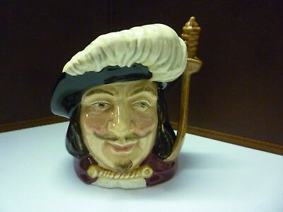 Small Vintage Doulton Toby Jug Porthos See Large Collection Listed