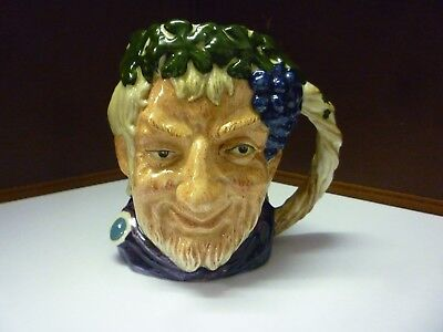 Small Vintage Doulton Toby Jug Bacchus See Large Collection Listed