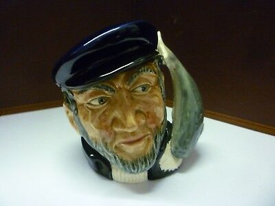 Small Vintage Doulton Toby Capn Ahab See Large Collection Listed