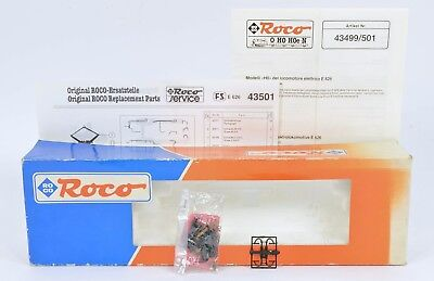 ROCO 43501 FS E626 FACTORY SEALED DETAILING PACK INSTR's & PARTS SCHEDULE & BOX