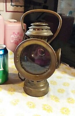 Vintage Antique Neverout Insulated Kerosene Lamp Carriage Mount model T