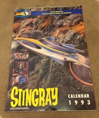 Gerry Anderson STINGRAY Calendar 1993 - ITC 1992