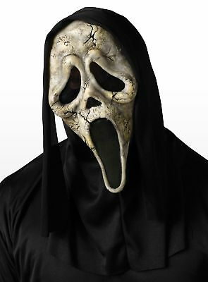 Zombie Scream Maske aus Latex - ideal für Halloween Kostü