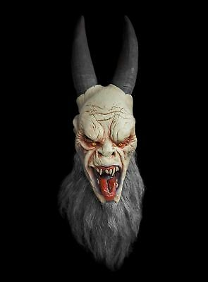 Krampus Maske aus Latex Halloween Horror Monster