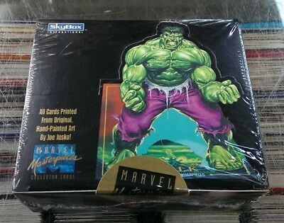 1992 Skybox - Marvel Masterpieces - Factory Sealed / Unopened Box