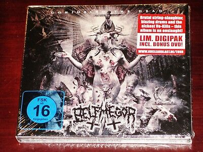 Belphegor: Conjuring The Dead - Special Limited Edition CD + DVD Set 2014 NB NEW