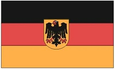 3x5 ft GERMANY w/ EAGLE COUNTRY FLAG 1950-1990 Lightweight Print Polyester Flag