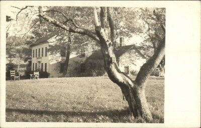 New Milford CT Buckingham Place c1950s Real Photo Postcard