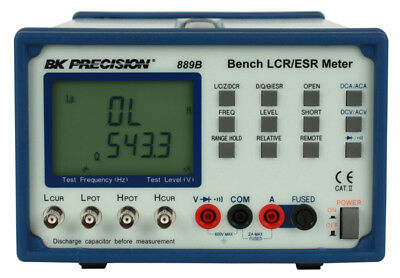 New BK 889B Bench Lcr/Esr Meter With Component Tester US Authorized Dealer
