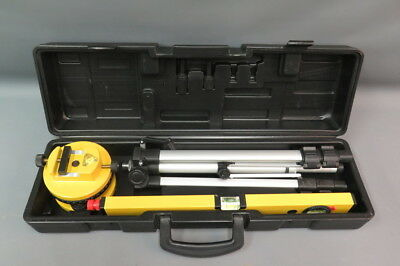Professional Laser Level Tripod & Carrying Case - New