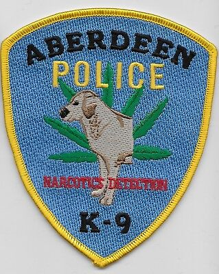 Narcotics k9 k-9 Aberdeen Police State Maryland MD