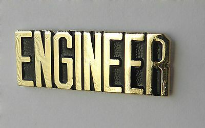 Railroad Engineer United States Usa Lapel Pin Badge 1.1 Inches