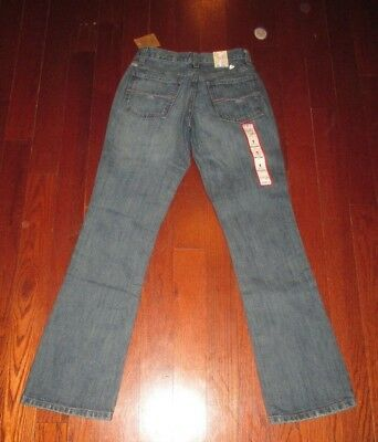 "CRUEL GIRL womens SZ 1 x 31 ""NWT"" BRITTANY slim boot cut denim jeans"