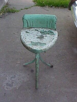 Old Metal Heart Shaped Chair