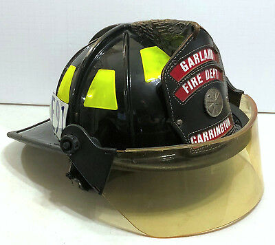 CAIRNS 1010 DEFENDER DELUXE FIRE HELMET - NFPA 1971-2000 Edition - MFG Date 2004