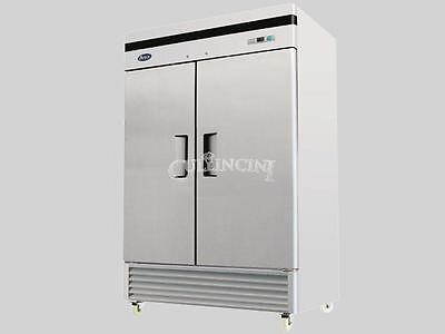 NEW Reach-In Refrigerator, Two Door Section Bottom Mount Lowest Price Restaurant