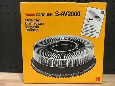 Retro Kodak Carousel S-Av2000 Slide Tray Germany