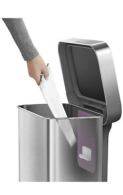 Simple Human 45 Liter Stainless Steel Trash can