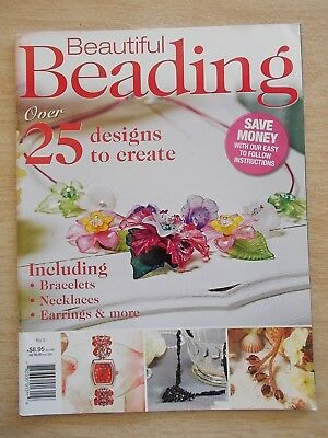 Beautiful Beading #3~25+ Projects~Jewellery~Watch~Baubles~Half-Doll~Xmas~Tassels
