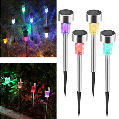 Mini Waterproof Solar LED Outdoor Lawn Lights Landscape Garden Path Lamp For Lot
