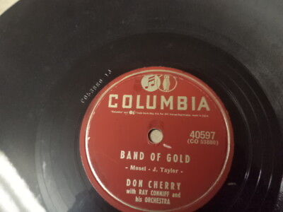 """1955 COL.78/DON CHERRY-""""Band Of Gold""""/E!"""