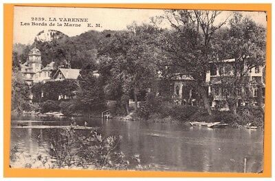 LA VARENNE (94) VILLAS en Bords de MARNE en 1922