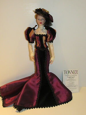 Tonner Lady Agnes Doll 2013 Age of Innocence Convention LE 100 Mint w/ COA