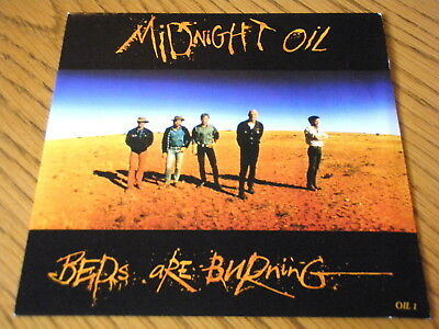 Midnight Oil Beds Are Burning 7 Vinyl Ps