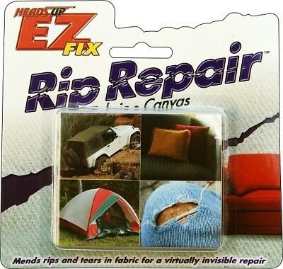 Heads Up Industries EZ Fix Rip Repair Fabric and Canvas Kit