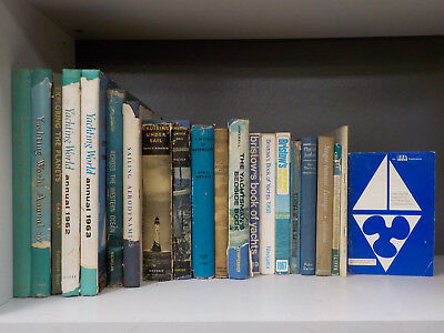Yachting (c.1960's) - 21 Books Collection! (ID:2189)