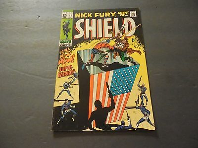 Nick Fury, Agent of SHIELD #13 July 1969 Silver Age Marvel Comics        ID:7428