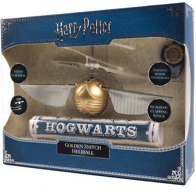 Harry Potter Quidditch Golden Snitch Heliball Flying Toy NEW