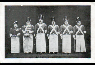 CIRQUE / CLOWNS début 1900 (TROUPE des LILLIPUTIENS Casino de PARIS)