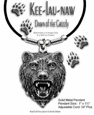 Grizzlies Bear Grizzly Dawn Necklace - Jewelry Art Wild Nature - Free Ship #l24'