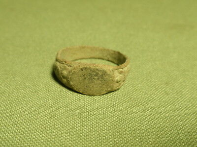 Post Medieval ring 16-17th century.