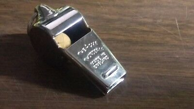 A pair of NEW  OLD STOCK Thunderer Whistles made in England