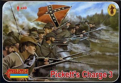 Strelets Models 1/72 PICKETT'S CHARGE AT GETTYSBURG Figure Set Part 3