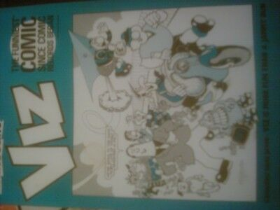 Viz 34 Complimentary edition sleeve from John Brown publishing (empty) + Joblot