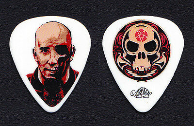Anthrax Scott Ian Face White Guitar Pick - 2006 Tour