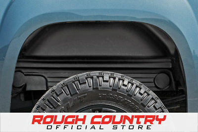 Rough Country® Rear Wheel Well Liners (Pair) - 99-06 Chevy Silverado 1500