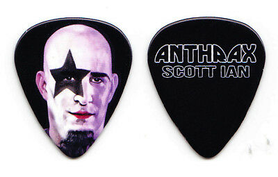 Anthrax Scott Ian Starman KISS Paul Stanley Guitar Pick - 2018 Killthrax II Tour