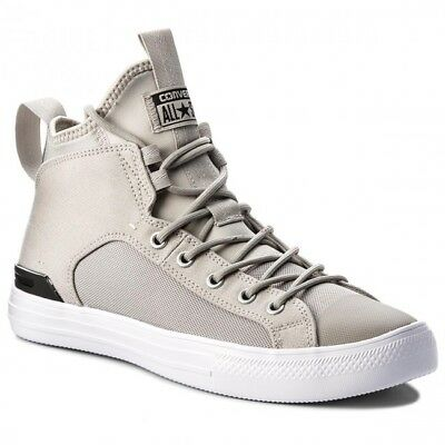 120355e20214 CONVERSE CT CHUCK TAYLOR ALL STAR ULTRA MID Mens 159632C Pale Grey ...