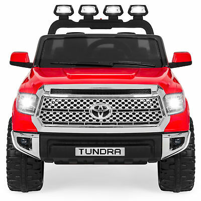 BCP Kids 12V Toyota Tundra Truck Ride-On Car w/ Remote Control, LED Lights