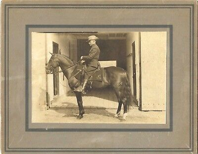 Antique c1920 Photograph~Pennsylvania State Police~Butler~Trooper on Horseback