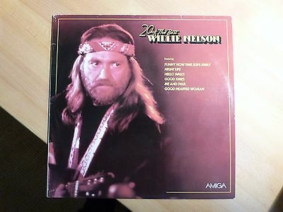"""12"""" LP - Willie Nelson - 20 of The Best - Amiga (20 Songs)"""