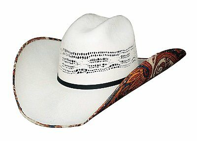 14ad7fa35a8 BEER TIME JUSTIN Moore Collection From Bullhide Bangora Straw Cowboy ...
