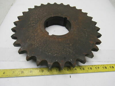 "100BTL30 #100 Roller Chain Sprocket 1-1/4"" Pitch  30T 3020 TL Bush"